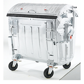 Müllcontainer, Stahl, 1100 l