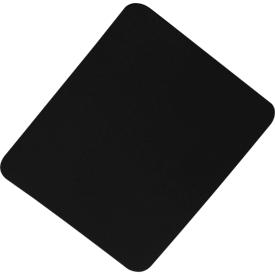 Muismat textiel, zwart