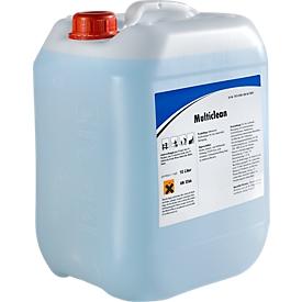 Multiclean - alkalisch krachtig reinigingsmiddel, 10 liter jerrycan
