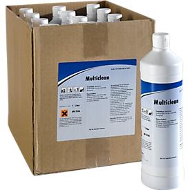 Multiclean - alkalisch krachtig reinigingsmiddel, 12 flessen