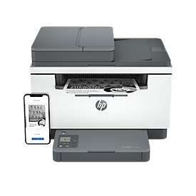 Multifuncional láser HP LaserJet MFP M234sdw, monocromo, 3 en 1, USB/LAN/WLAN, impresión automática a doble cara/móvil, hasta A4, incluye cartucho de tóner negro