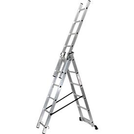 Multifunctionele ladder, 3x6 sporten