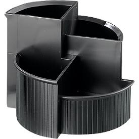 Multipurpose houder Linear, zwart