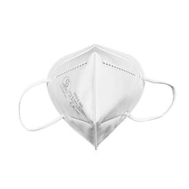 Mund-Nasen-Schutzmaske Sentias CE2163, FFP2, 4-lagig, Nasenclip, 1 Stück