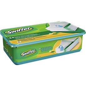 Natte doekjes Swiffer® voor vloeren, doosje met 24 doekjes