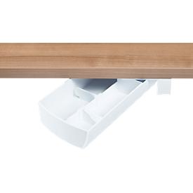 Opbergdoos onderbouw draaiende lade SWING draaibaar, wit