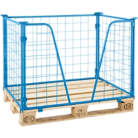 Opzetframe voor pallets type 63, 1200 x 1000 x 1200