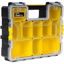 Organizador profesional STANLEY FatMax™, compartimentos planos, 45 x 7 x 36 cm