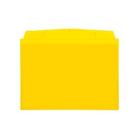 Orgatex-Sichttaschen, A6 quer, gelb, 10 St.
