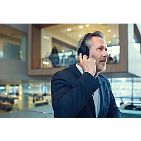 Over-Ear Bluetooth-Headset SENNHEISER EPOS AI™ ADAPT 660, Active Noise Cancelling, mit Alexa, faltbar, binaural