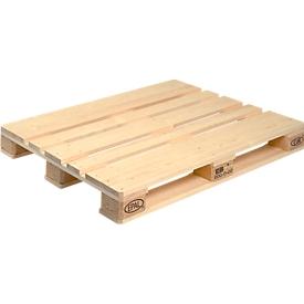 Palet EURO 3, de madera, L 1200 x A 1000 mm, 10 p.