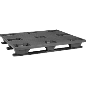 Palet industrial con patines, 1000 x 1200mm, 5 unidades