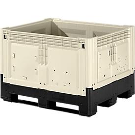 Palletbox met poten, inklapbaar, 565 liter