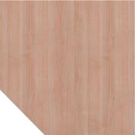 Panel trapezoidal ULM, ancho 1200 x fondo 1200 mm, acabado nogal