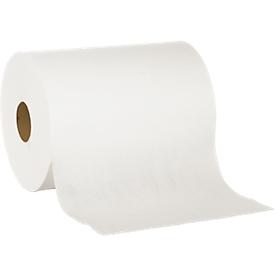 Paño de limpieza especial, blanco, 2 capas, 2 rollos