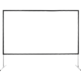 Pantalla de proyección móvil con marco Fold Exclusiv, 2200 x 1700mm