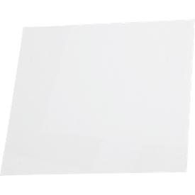 Papiereinlagen für Türschild Lyon, 150 x 150 mm, weiß, 10 Stück