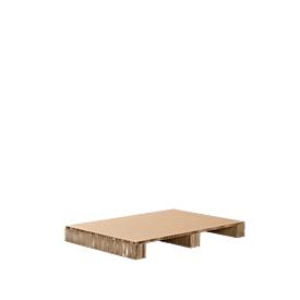 Papierwabenpalette, Variante Zweiwegepalette, L 1200 x B 800 mm, bis 1000 kg, unterfahr- & recycelbar