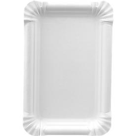 Pappteller, weiß, 130 x 200 mm, 250 St.