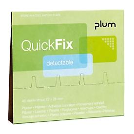 Paquete de recambio de yeso detectable, para QuickFix