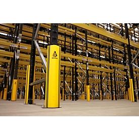 Parachoques de estanterías RackGuard (S), p. patas de estantería de An 85mm ancho/P 40mm, plástico
