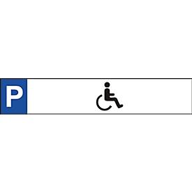 Parkeerbord, Gehandicapten pictogram