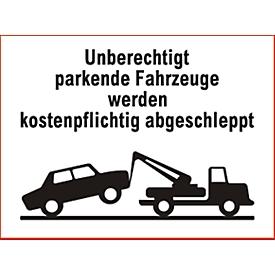 Parkverbot-Schild