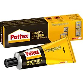 Pattex krachtlijm Transparent, bevat oplosmiddel, 50 g