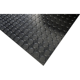 Pavimento de goma COBAdot de nitrilo, m lineal x An 1200mm, grosor del material 3mm