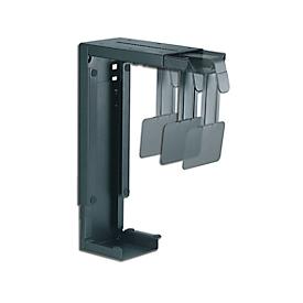 PC-Halterung Neomounts by NewStar CPU-D100, vertikal, bis 30 kg,  manuell höhen- & breitenverstellbar, inkl. Befestigungsmaterial, schwarz