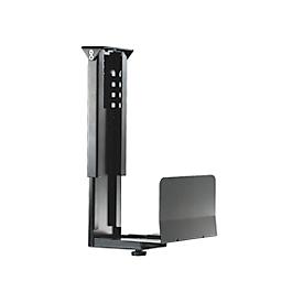 PC-Halterung Neomounts by NewStar CPU-D200, vertikal, bis 30 kg,  manuell höhen- & breitenverstellbar, inkl. Befestigungsmaterial, schwarz