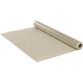 Película de PE construcción plana, robusto e impermeable, transparente, An 2000mm