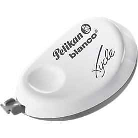 Pelikan Korrekturroller blanco® Xycle® B920, weiß, Griffmulde, ohne Lösungsmittel, seitl. Anwendung
