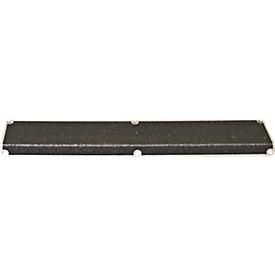 Perfil para escalones, 30 x 110 x 660 mm, negro