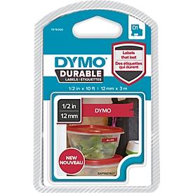 Permanenthaftendes D1-Hochleistungsband aus Vinyl , 12mm rot/weiß