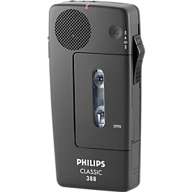 PHILIPS mini-dicteerapparaat met cassettes Pocket Memo 388
