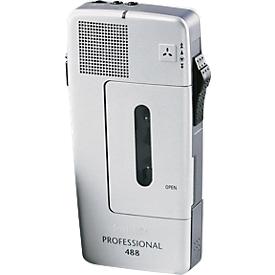 PHILIPS Mini-Kassetten-Diktiergerät Pocket Memo 488