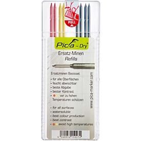 Pica DRY navullingen, diverse kleuren, 8 stuks