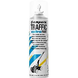 Pintura de señalización Traffic® Extra, para máquinas trazadoras de líneas, impermeable, alcance 50 m, 500 ml, blanco