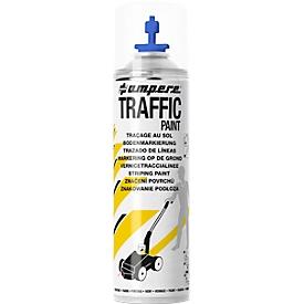 Pintura en aerosol Traffic Paint Ampere, para máquinas Perfekt-Striper, spray de 523 ml, azul (RAL 5017)