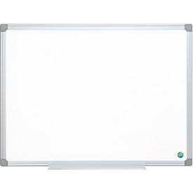 Pizarra blanca EARTH-IT, esmaltado, marco de aluminio, 600 x 450mm