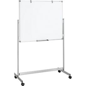 Pizarra blanca MAUL, móvil, 1000 x 1200mm
