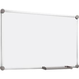 Pizarra blanca MAULpro 2000, gris platino, 600 x 450mm