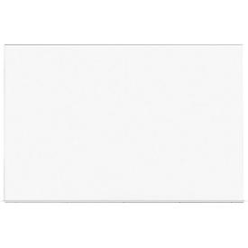 Pizarra blanca modular Skin, utilizable en horizontal o en vertical, chapa de acero, 750 x 1150 mm,