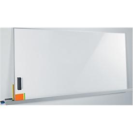 Pizarra blanca Sigel Business meet up, metal blanco lacado, magnético, móvil, An 900 x Al 1800mm