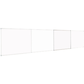 Pizarra esmaltada MAUL, continuo, módulo de ampliación, formato apaisado