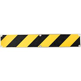 Placa antideslizante, 110 x 660 mm, negro/amarillo