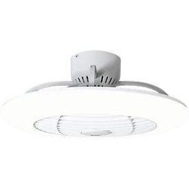 Plafondventilator met LED-verlichting Orbit, 3 snelheden, afstandsbediening, 75 W, B 550 x D 550 x H 245 mm
