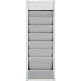 Planbord, A4, 6 rijen, H 900 x B 315 mm