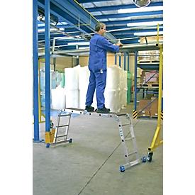 Plataforma de trabajo Combi-Multiboard, 4 x 3 peldaños